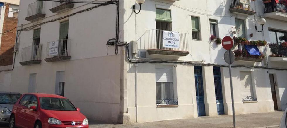 rehabilitacion vivienda plurifamiliar vilanova y la geltru