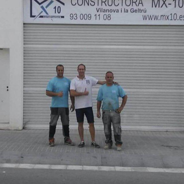 Rehabilitación local comercial en Vilanova i la Geltrú